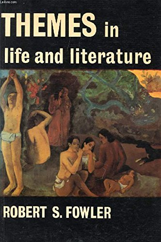 9780198331292: Themes in life and literature