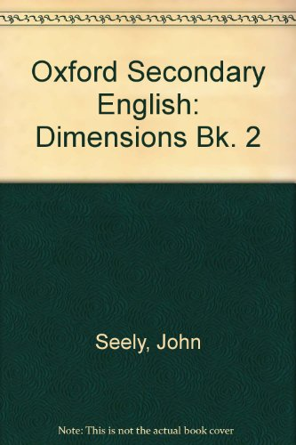 9780198331698: Oxford Secondary English: Dimensions Bk. 2