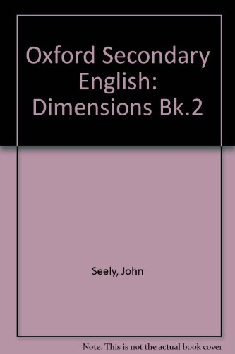 9780198331742: Oxford Secondary English: Dimensions Bk.2