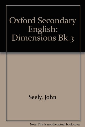 9780198331759: Oxford Secondary English: Dimensions Bk.3