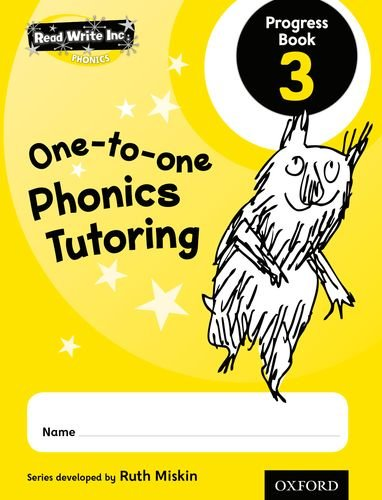 9780198331841: Read Write Inc.: Phonics One-to-One Phonics Tutoring Progress Book 3 Pack of 5