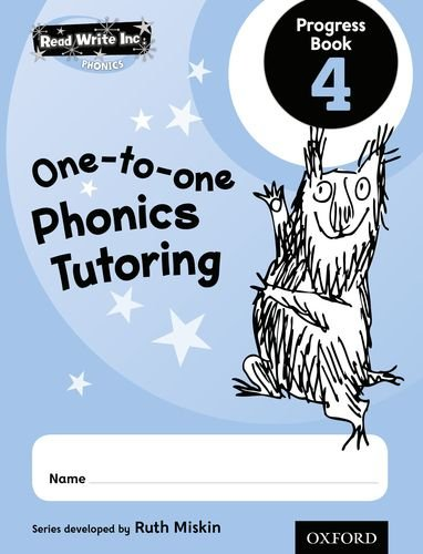 9780198331865: Read Write Inc.: Phonics One-To-One Phonics Tutoring Progress Book 4 Pack of 5