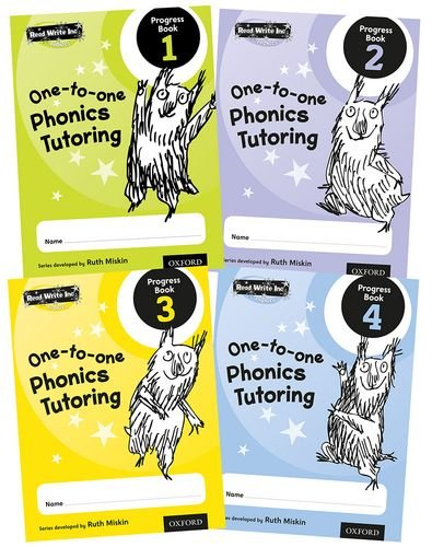 9780198331889: Read Write Inc.: Phonics One-to-One Phonics Tutoring Progress Book Mixed Pack of 4
