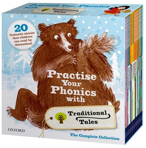9780198332558: Practise Your Phonics with Traditional Tales Set Collection (21 Books) RRP:£125.79 (Oxford Reading Tree)