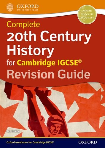 9780198332602: 20th Century History for Cambridge IGCSE®: Revision Guide (Igcse Revision Guides)