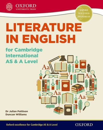 9780198332626: Literature in English for Cambridge International AS & A Level (CIE A Level)