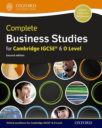 9780198332640: Complete Business Studies for Cambridge IGCSE and O Level