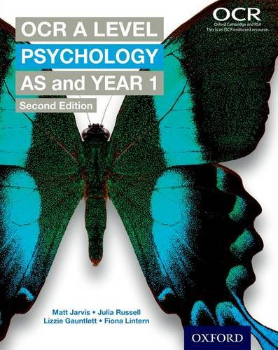 9780198332756: OCR A Level Psychology AS and Year 1