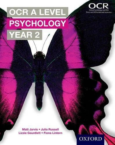 9780198332763: OCR a Level Year 2 Psychology