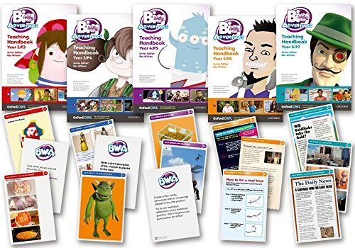 BIG WRITING ADVENTURES Y2Y6 PRINT PACK
