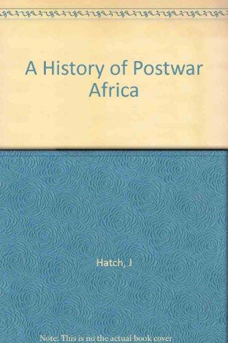 9780198335214: Africa: The Rebirth of Self-Rule