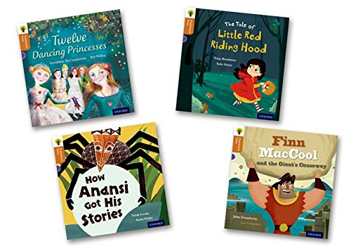 9780198339724: Oxford Reading Tree Traditional Tales: Level 8: Pack of 4