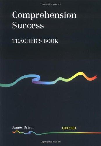 9780198341826: Comprehension Success: Teacher's Book