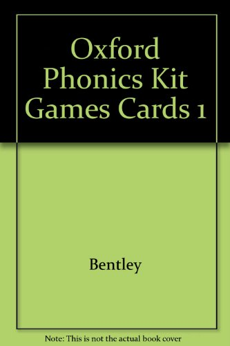 9780198345848: Oxford Phonics Kit Games Cards 1