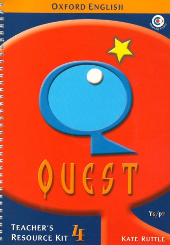 9780198349501: Oxford English Quest: Y6/P7: Teacher's Resource Kit 4