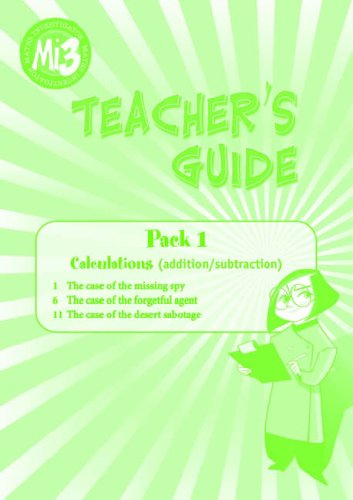 9780198350880: Maths Investigator: MI3 Teacher's Guide Topic Pack A: Calculations (Addition/Subtraction)