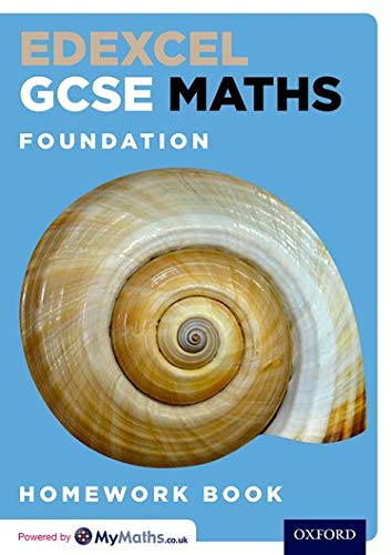 9780198351535: Edexcel GCSE Maths Foundation Homework Book