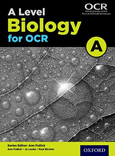 9780198351924: A Level Biology a for OCR Student Bookstudent Book