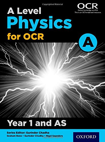 9780198352174: A Level Physics for OCR A: Year 1 and AS