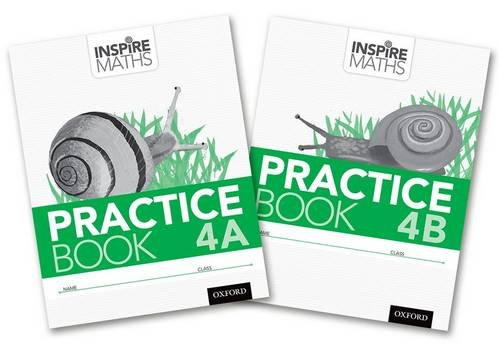 9780198354345: Inspire Maths: Practice Book 4 AB (Mixed Pack)
