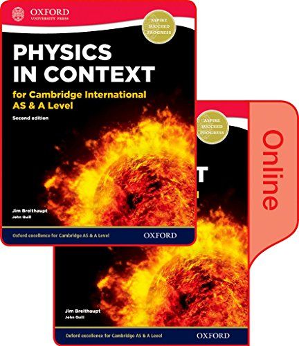 9780198354765: Physics in Context for Cambridge International as & A Level 2nd Edition: Print and Online Student Book Pack
