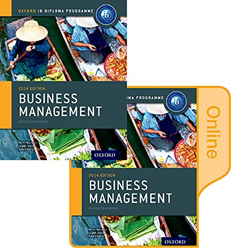 9780198354987: IB Business Management Print and Online Course Book Pack: Oxford IB Diploma Program