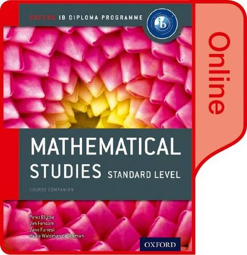 9780198355069: IB Mathematical Studies Online Course Book: Oxford IB Diploma Program