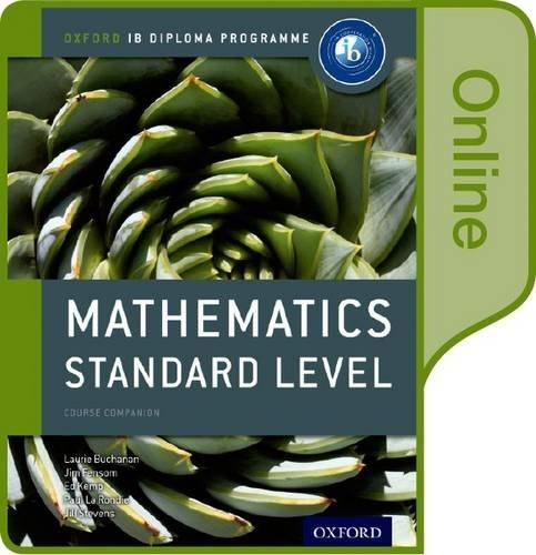 Ib Mathematics Standard Level: Jim Fensom ,