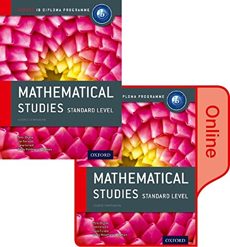 9780198355106: IB Mathematical Studies Print and Online Course Book Pack: Oxford IB Diploma Program