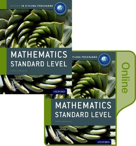 9780198355113: IB Mathematics Standard Level Print and Online Course Book Pack: Oxford IB Diploma Program