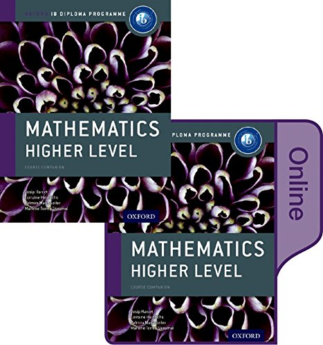9780198355120: IB Mathematics Higher Level Print and Online Course Book Pack: Oxford IB Diploma Programme (Ib Course Companions)