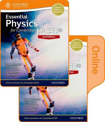 9780198355250: Essential Physics for Cambridge IGCSE: Print and Online Student Book Pack