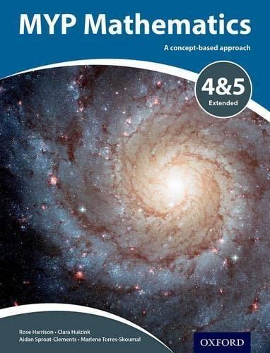 9780198356196: MYP Mathematics 4 & 5 Extended (IB MYP SERIES)