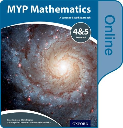 9780198356240: MYP Mathematics 4 & 5 Extended: Online Course Book