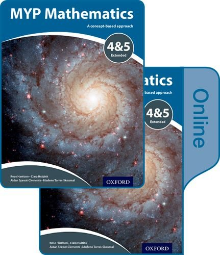 9780198356295: MYP Mathematics 4 and 5 Extended: Print and Online Course Book Pack (IB MYP SERIES)