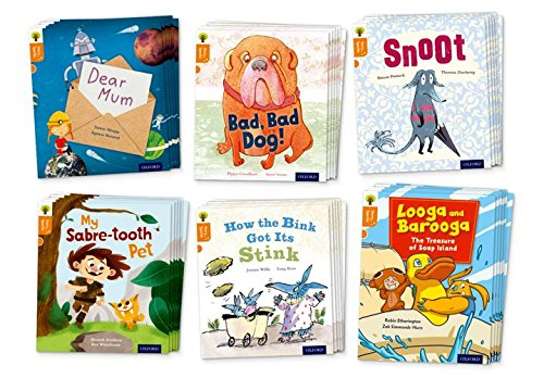 9780198356349: Oxford Reading Tree Story Sparks: Oxford Level 6: Mixed Pack of 6