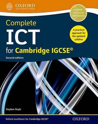 Complete ICT for Cambridge IGCSE: Doyle, Stephen