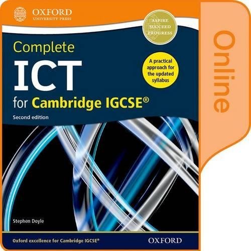 9780198357858: Complete ICT for Cambridge IGCSE Online Student Book