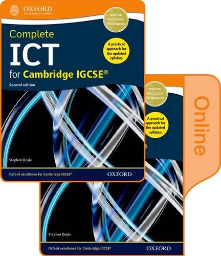 9780198357865: Complete ICT for Cambridge IGCSE: Print and Online Student Book Pack