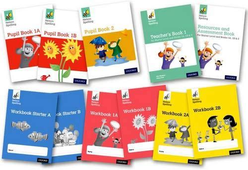 Nelson Spelling: Easy Buy Pack for Reception and KS1/ P1-3: Jackman, John, Lindsay, Sarah