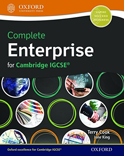 9780198359005: Complete Enterprise for Cambridge IGCSERG (CIE IGCSE Complete Series)