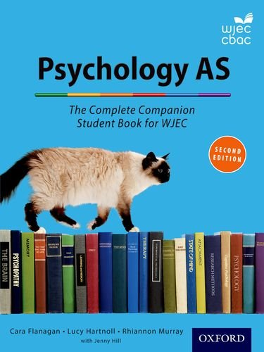 9780198359173: The Complete Companions for Wjec: Year 1 and as Psychology Student Book