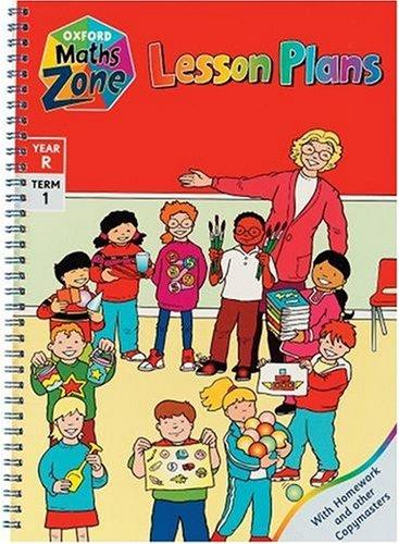 9780198360278: Oxford Maths Zone: Lesson Plans Year R, term 1