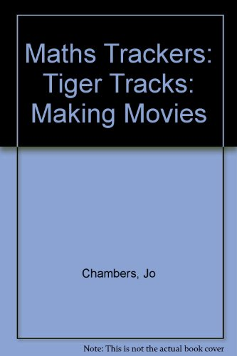 9780198361480: Maths Trackers: Tiger Tracks: Making Movies