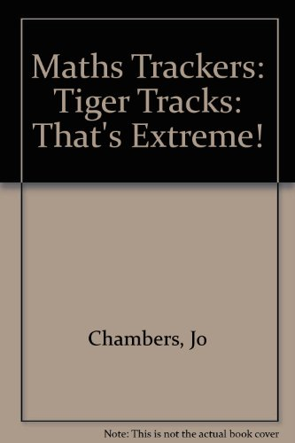 9780198361527: Maths Trackers: Tiger Tracks: That's Extreme!