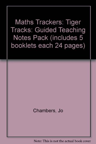 9780198361534: Maths Trackers: Tiger Tracks: Guided Teaching Notes Pack (includes 5 booklets each 24 pages)