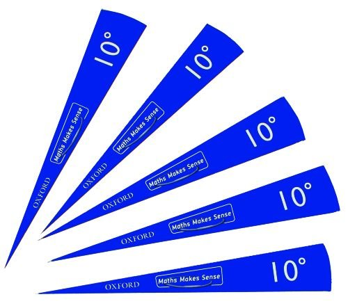 9780198362470: Maths Makes Sense: Pupil Top-up 15x 10-degree Angle Template Sets