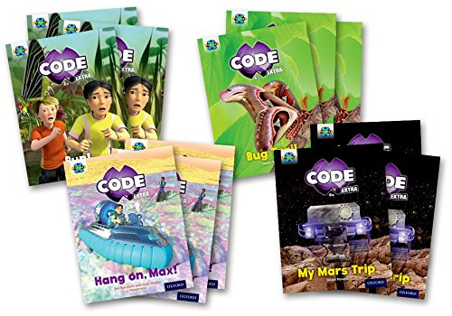 Project X Code Extra: Yellow Book Band, Oxford Level 3: Bugtastic and Galactic Orbit, Mixed Pack of...