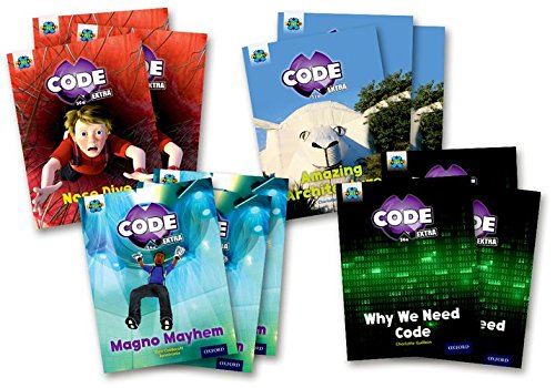 Project X Code Extra: Gold Book Band, Oxford Level 9: Marvel Towers and Code Control, Class Pack of...