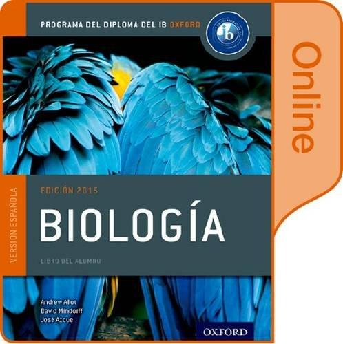 9780198364078: Biologia: Libro del Alumno digital en linea: Programa del Diploma del IB Oxford
